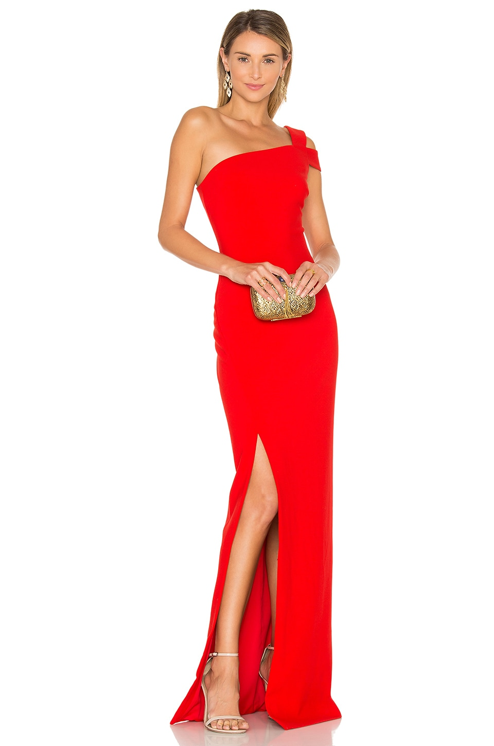 LIKELY Maxson Gown in Scarlet
