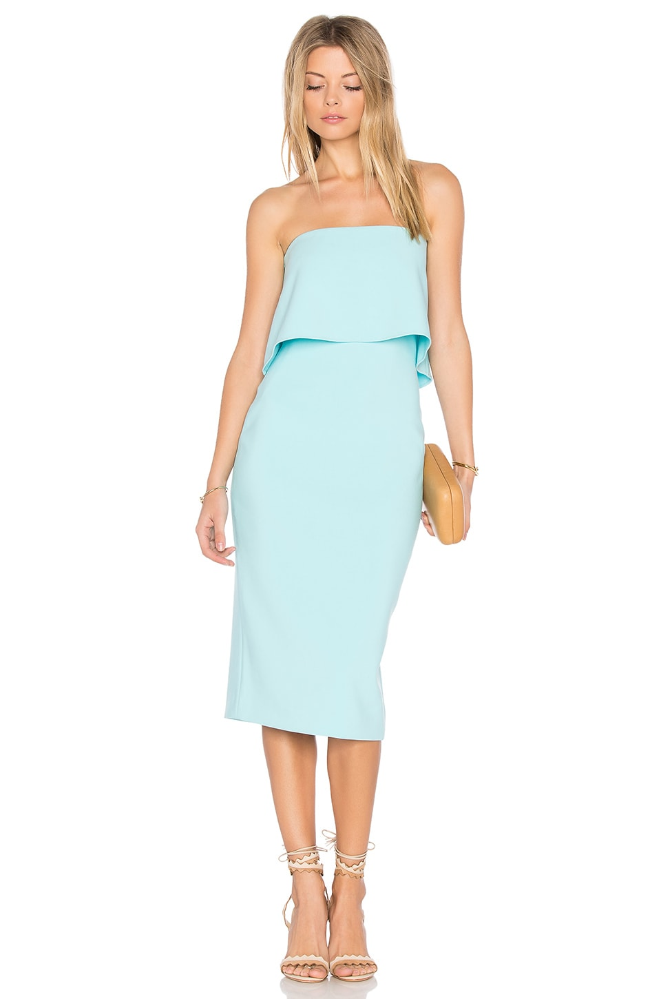 LIKELY Driggs Dress in Seafoam