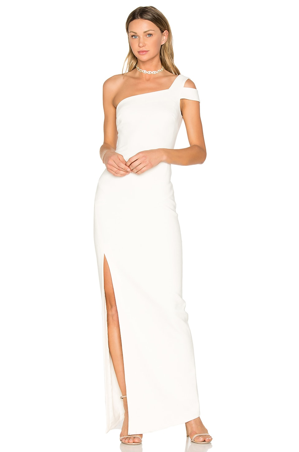 LIKELY Maxson Gown in White