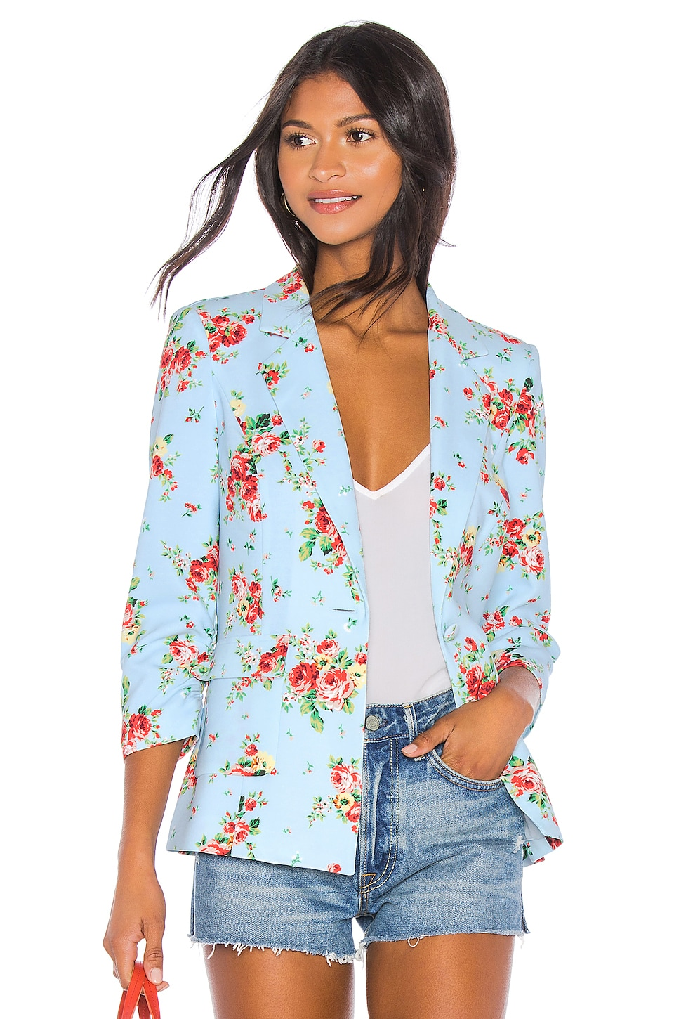 LIKELY Amelia Blazer in Floral Multi