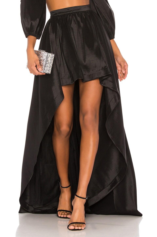 LIKELY X REVOLVE Cori Skirt in Black