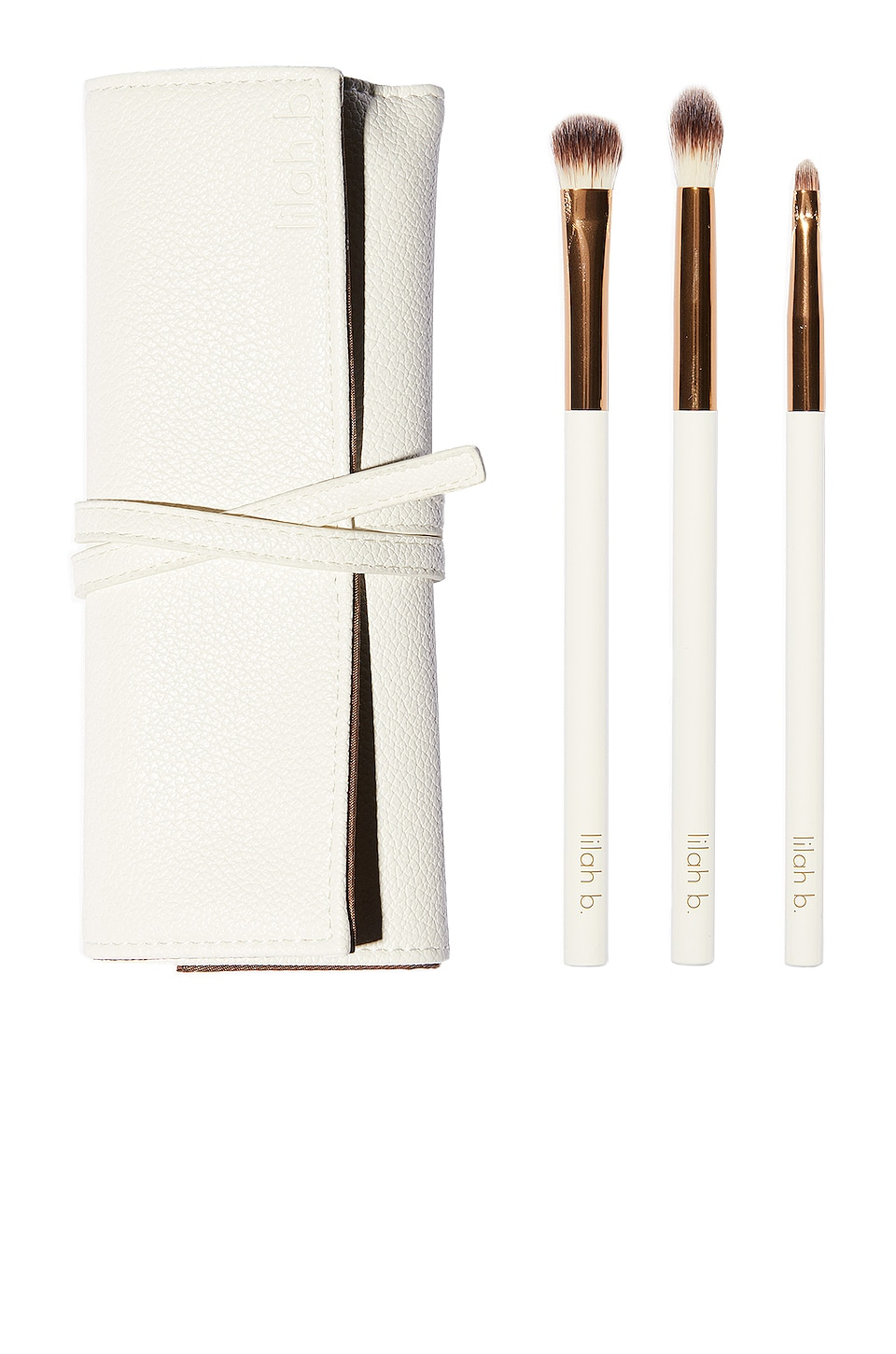 lilah b. ROLLO PARA PINCELES FOR YOUR EYES ONLY BRUSH ROLL