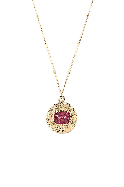 Lili Claspe Vita Coin in Gold & Ruby