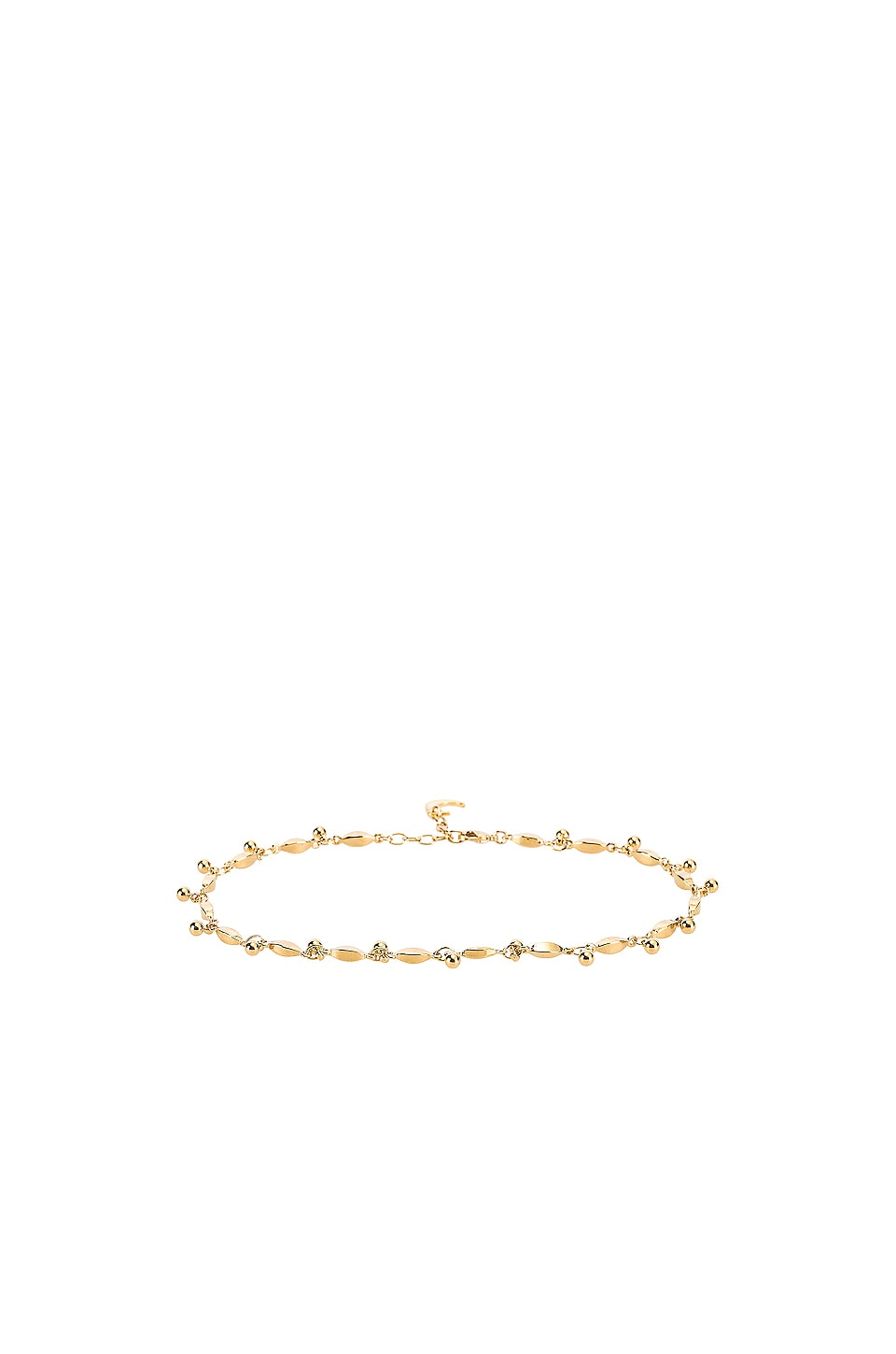 Lili Claspe Amaya Anklet in Gold