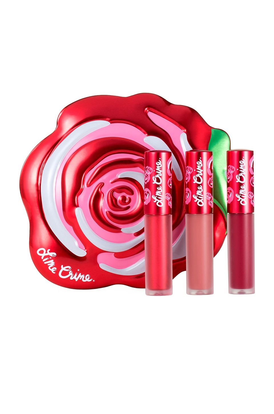 Lime Crime Velve-Tins Giftable Set in Red Rose
