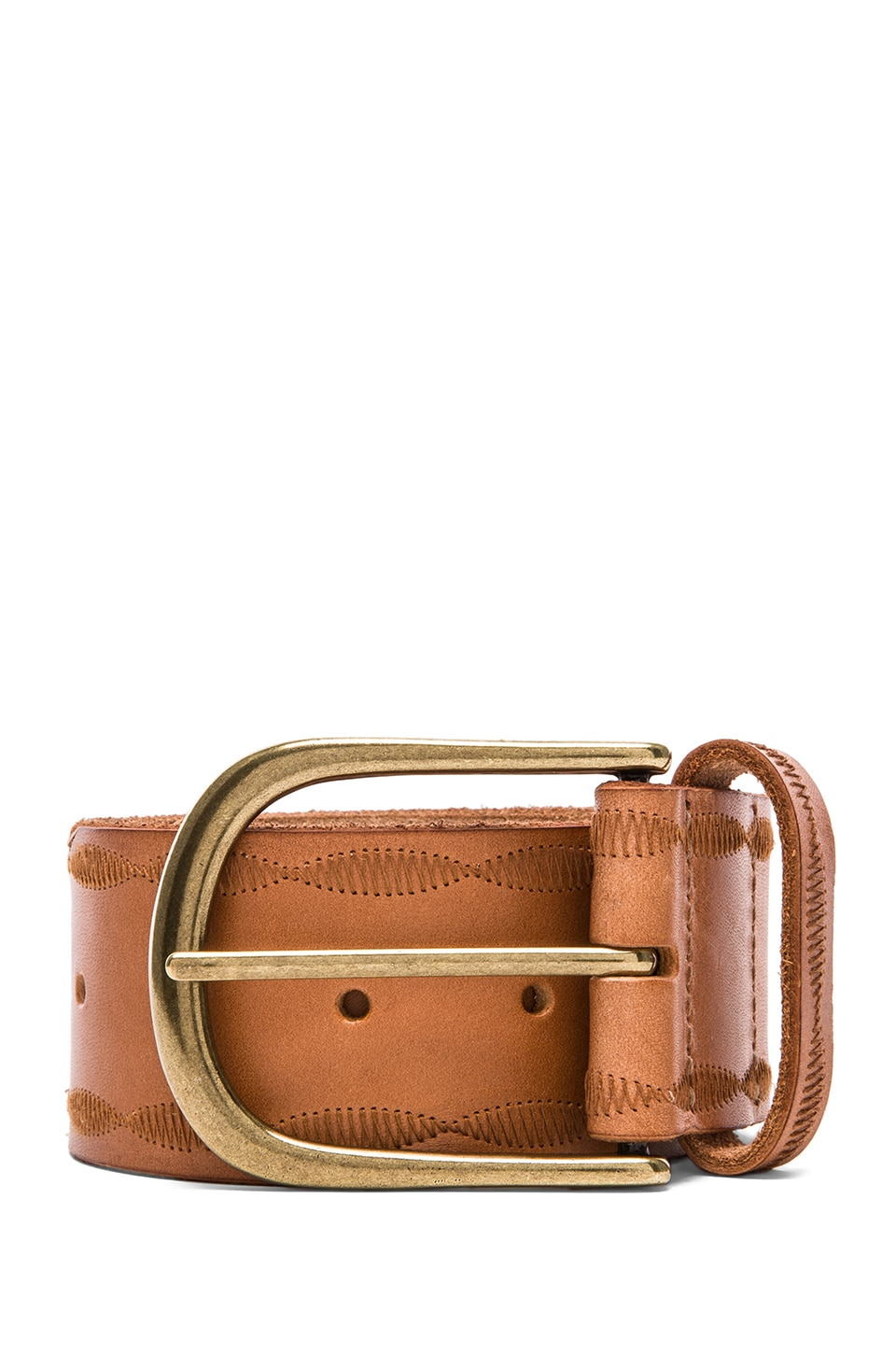 Linea Pelle Jean Belt in Natural