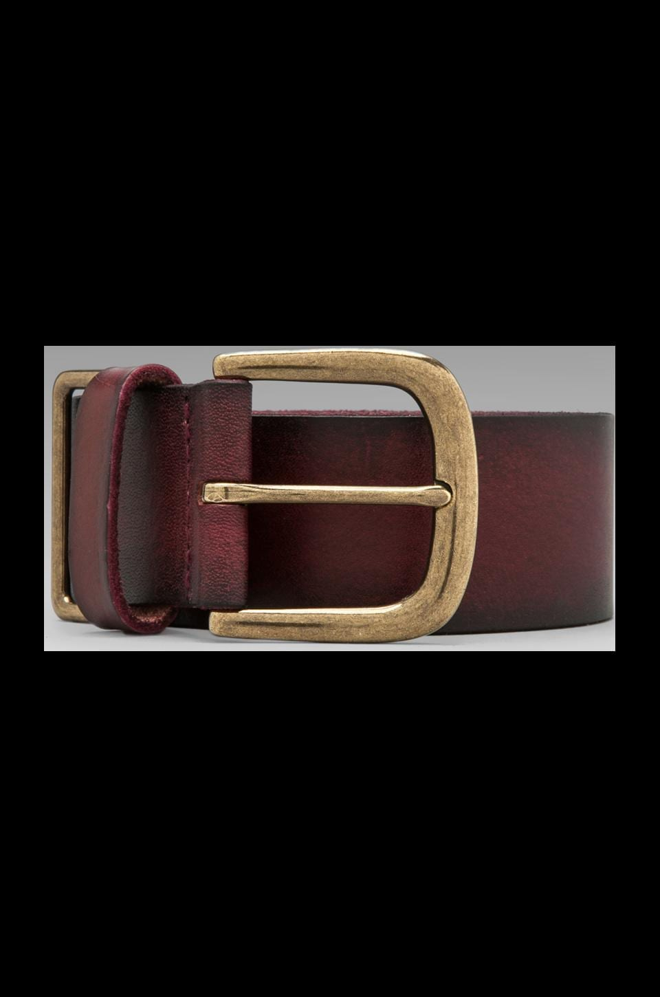 Linea Pelle Sullivan Military Hip w/ Metal Tip in Oxblood