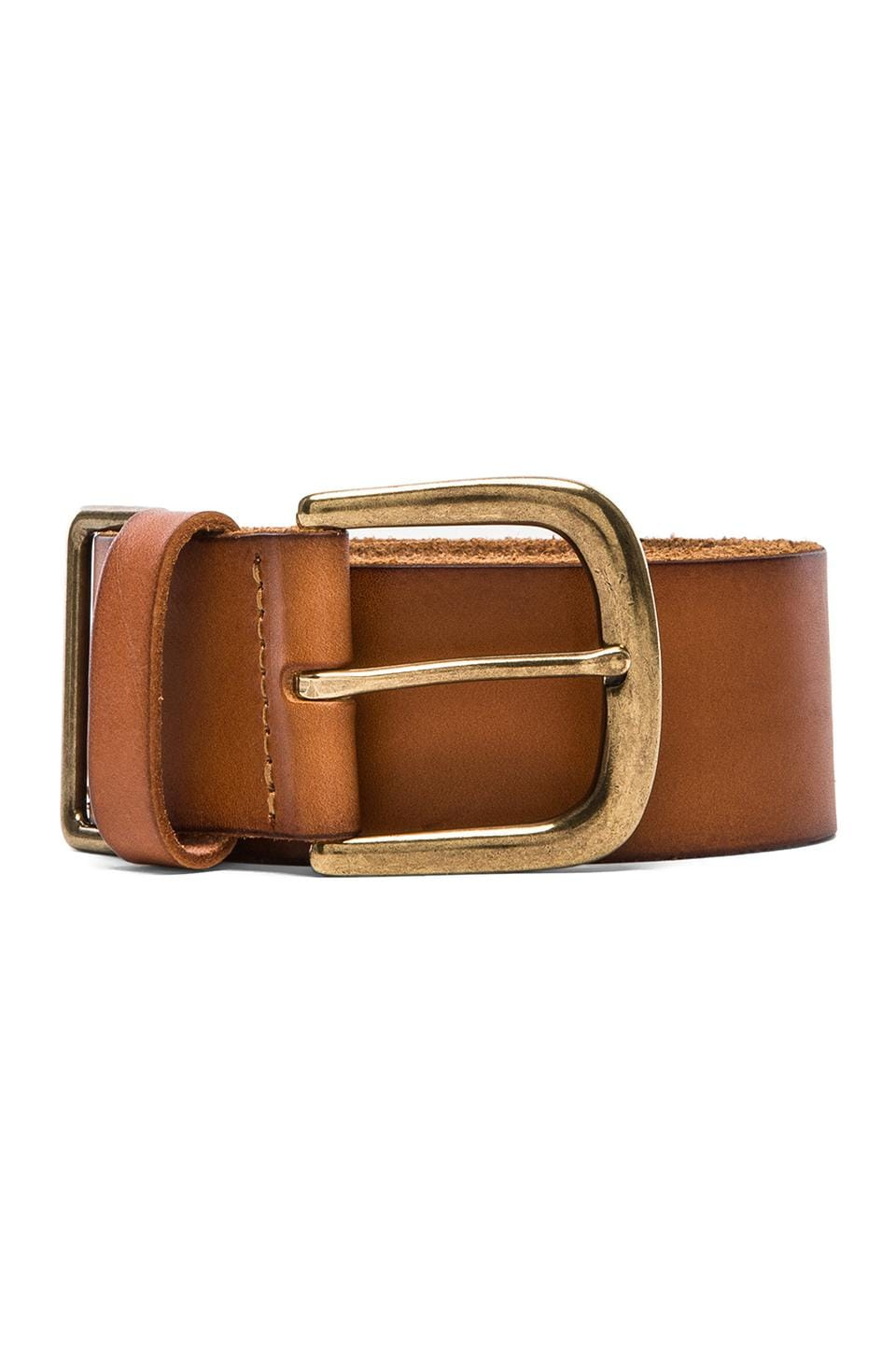 Linea Pelle Sullivan Military Hip w/ Metal Tip in Cognac