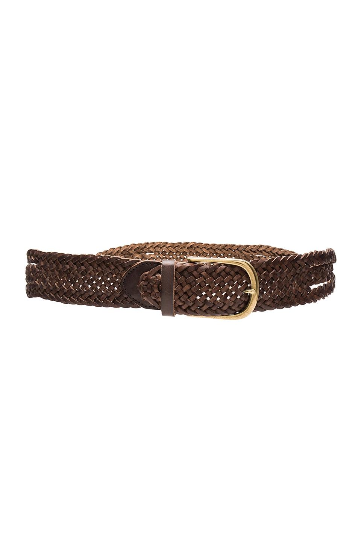 Twist Braid Hip Belt by Linea Pelle