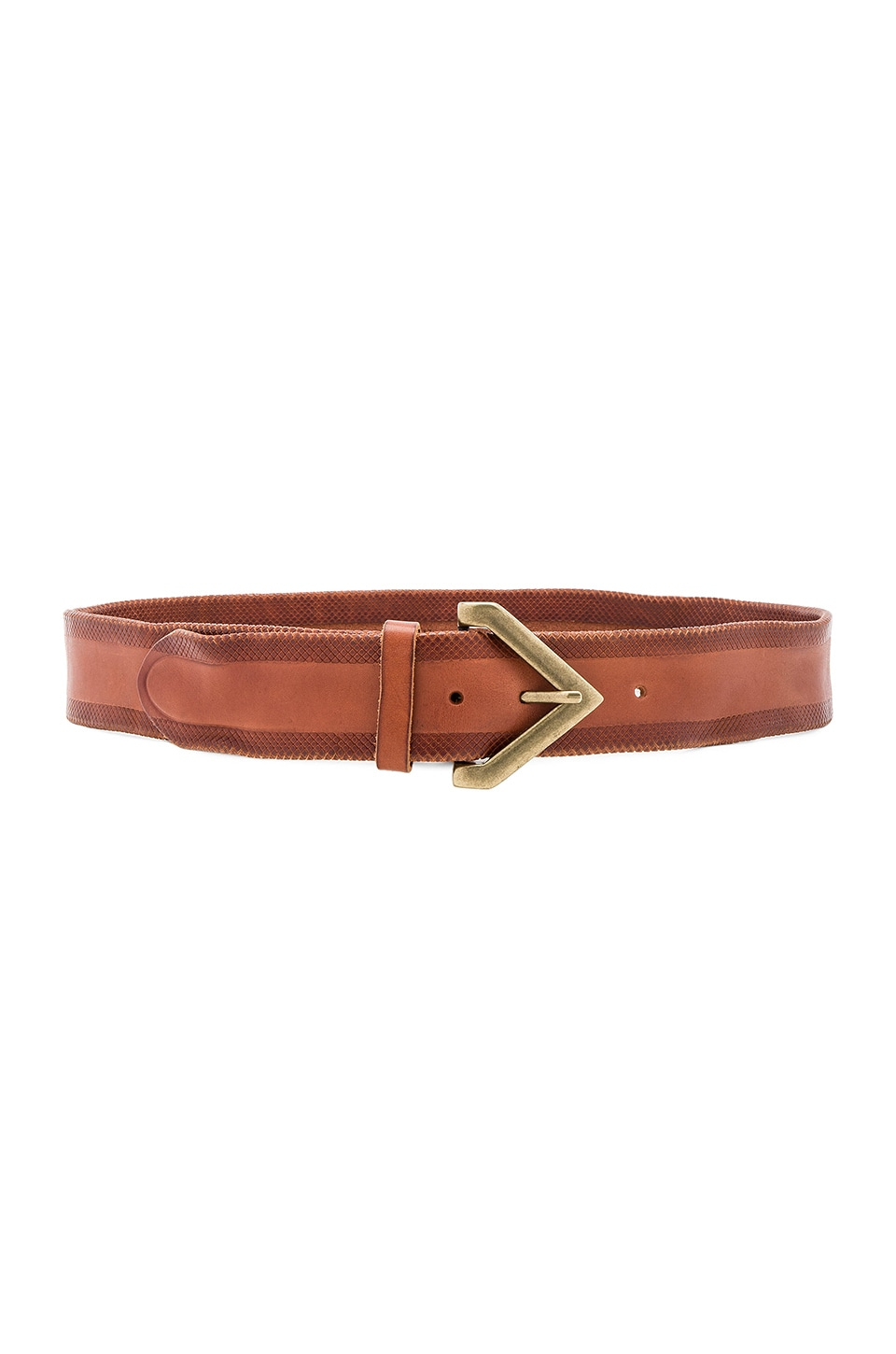 Triangle Buckle Belt by Linea Pelle