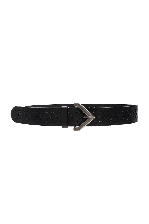 Woven Belt by Linea Pelle