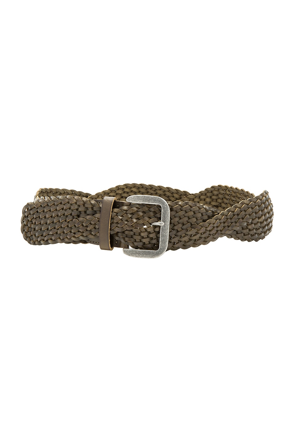 Twist Braid Belt by Linea Pelle