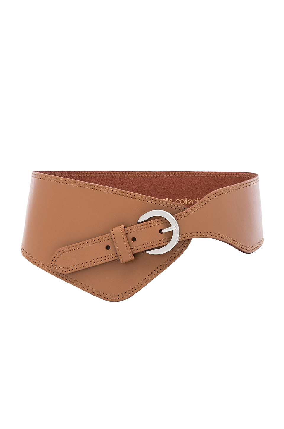 Asymmetrical Belt by Linea Pelle