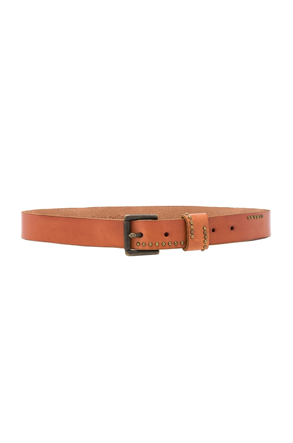 Studded Jean Belt by Linea Pelle