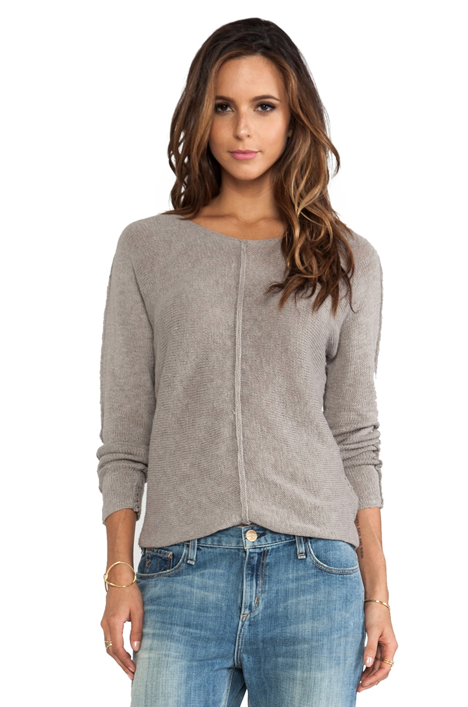 Line Coastal Sweater in Tawny