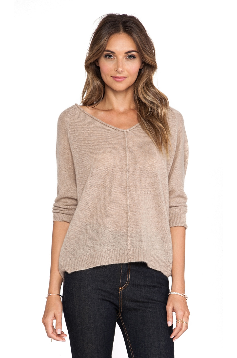 Line Ambrose Sweater in Camel