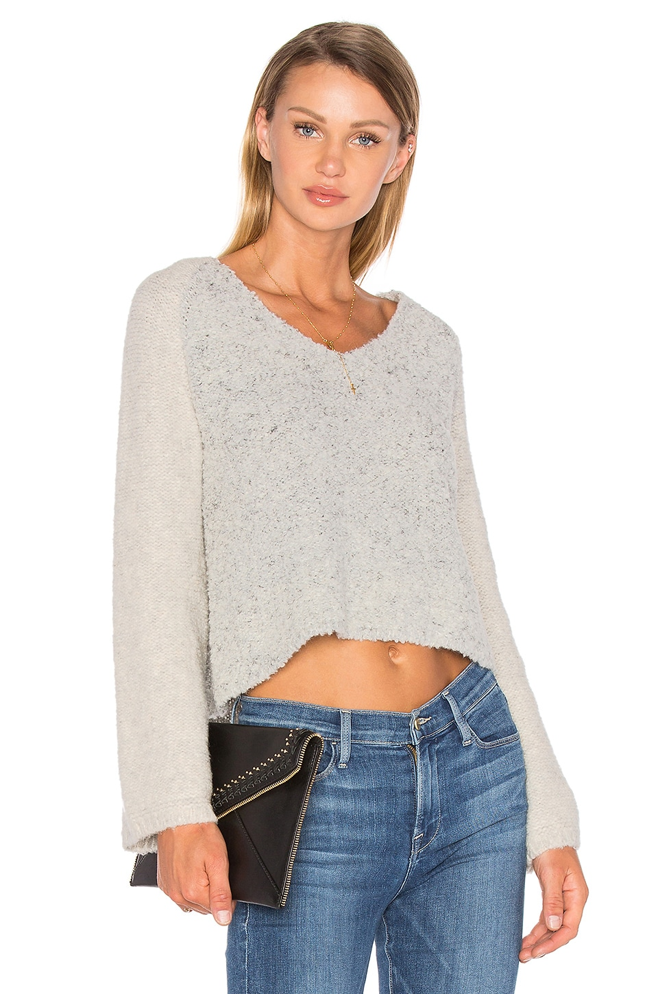 Drew Bell Sleeve Sweater by Line