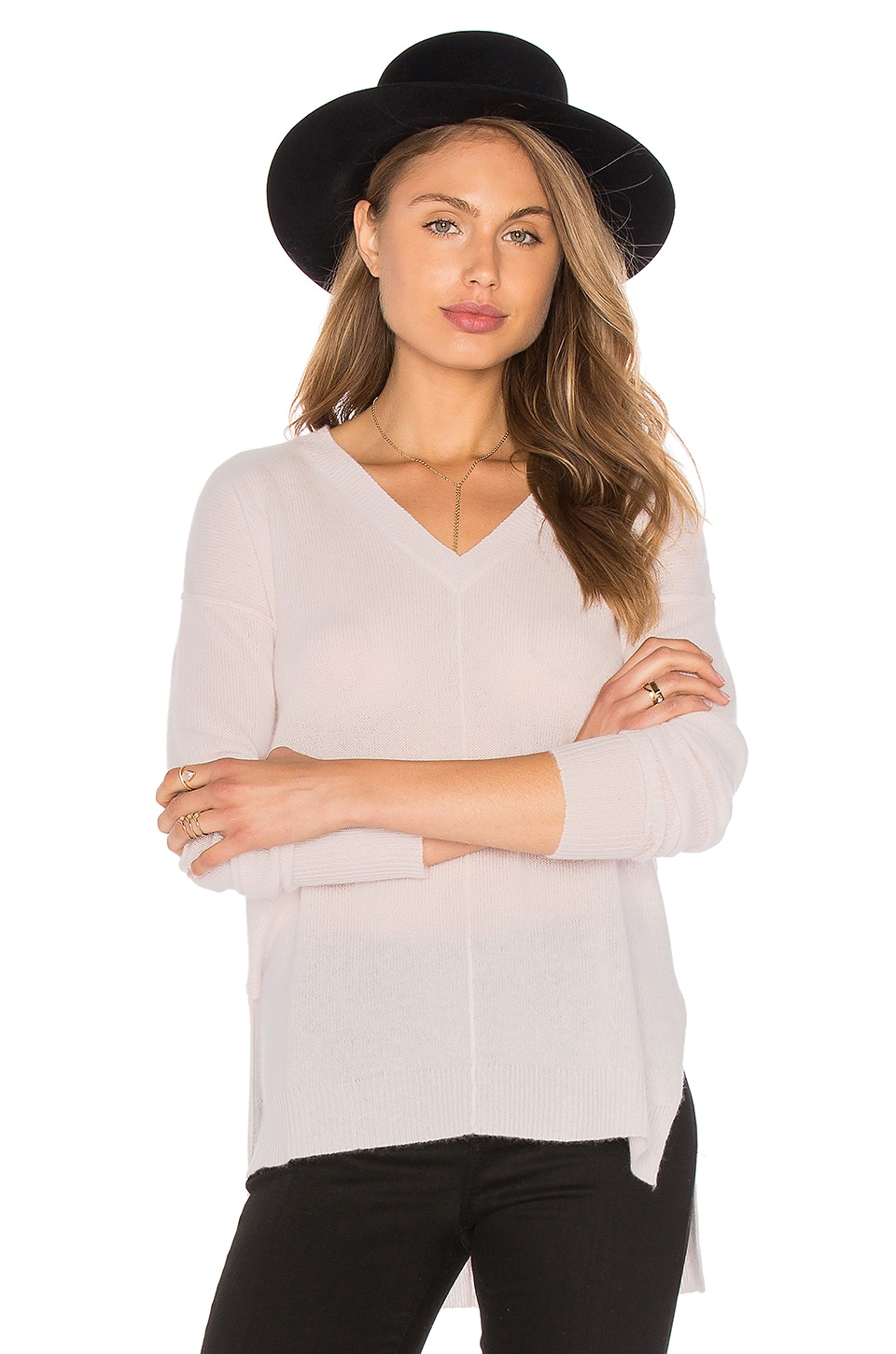 Judes V Neck Sweater by Line
