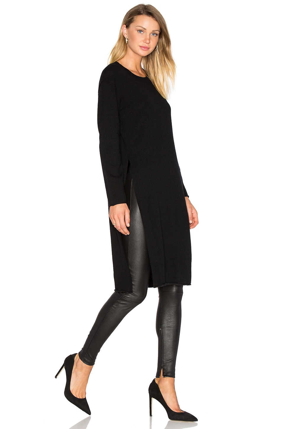 Knox Side Slit Sweater by Line