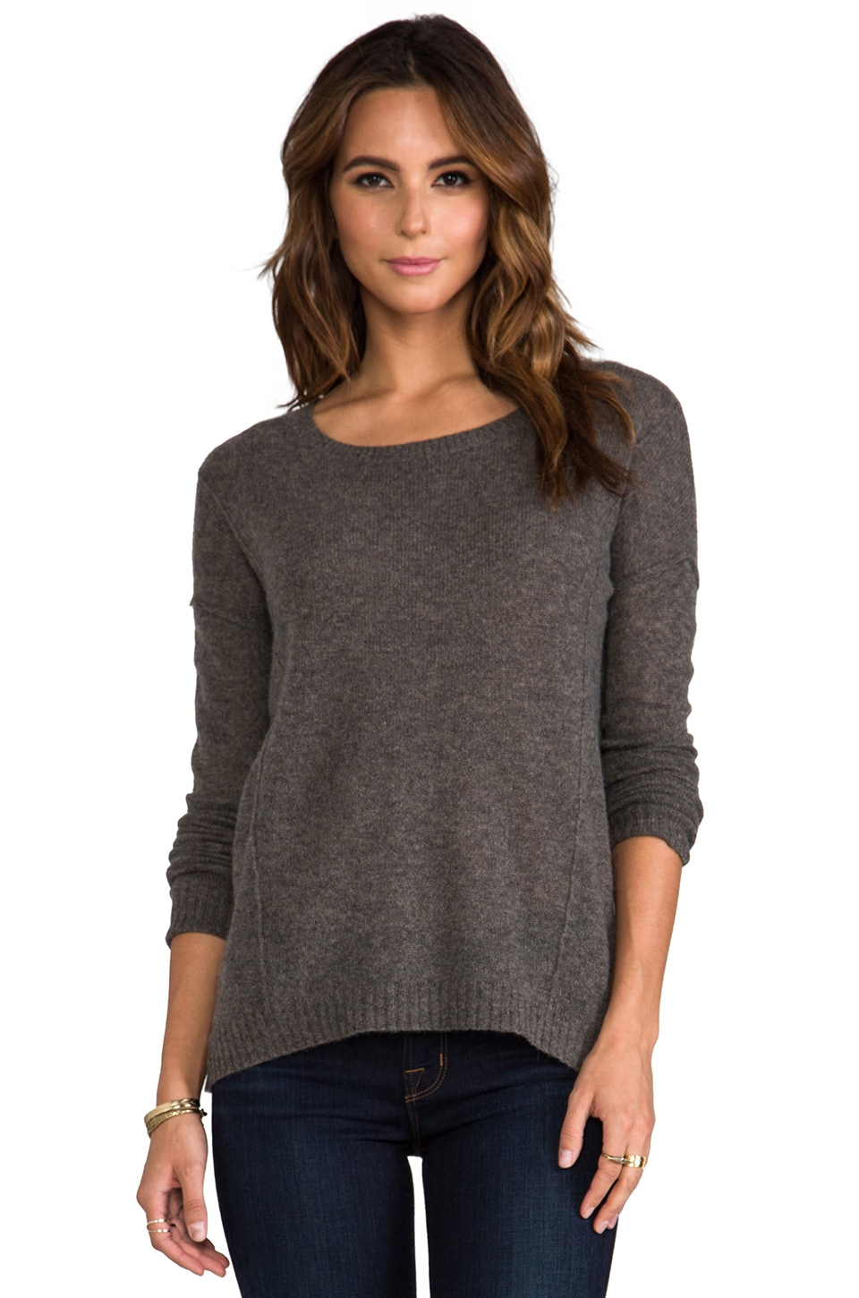 Line Cashmere Ardent Pullover in Ashen