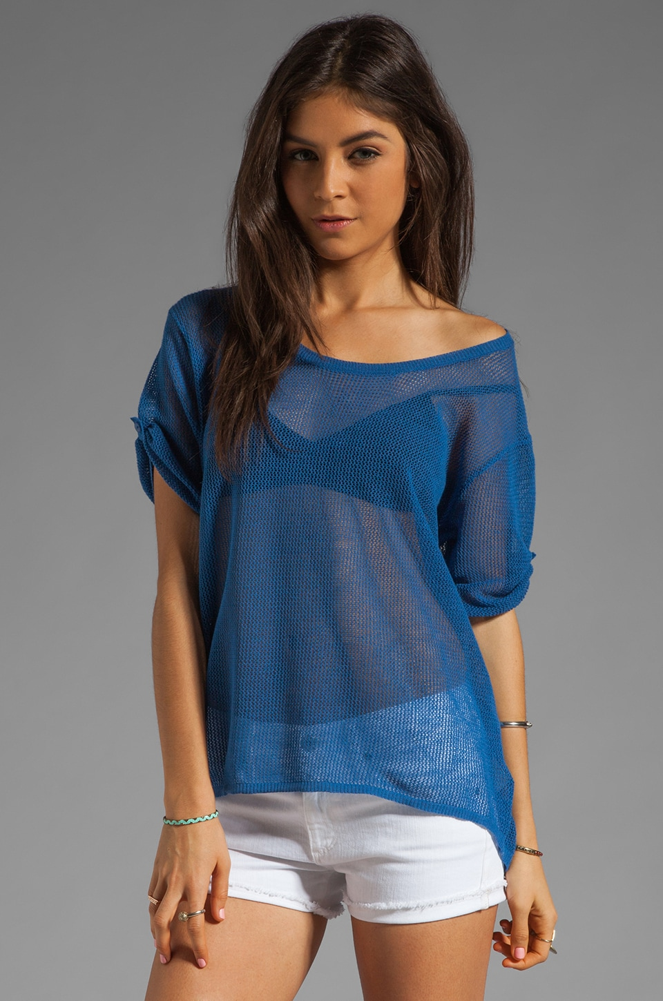 Line The Sea Breeze Top in Clearwater