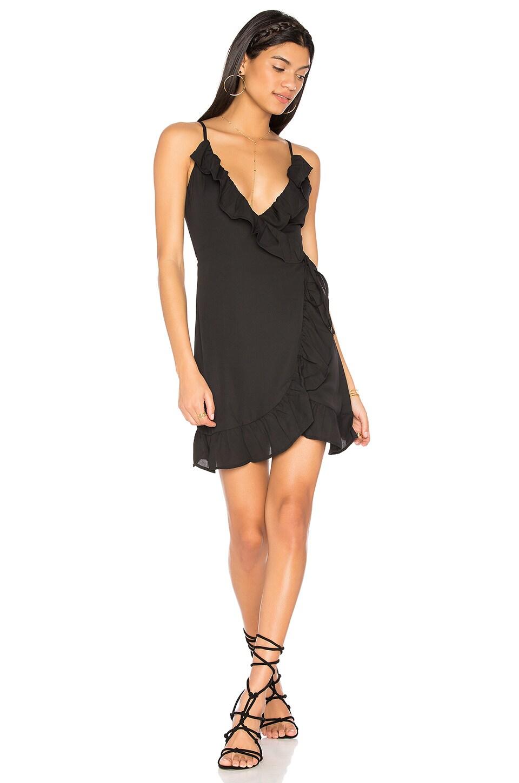 All Summer Long Ruffle Dress by LIONESS