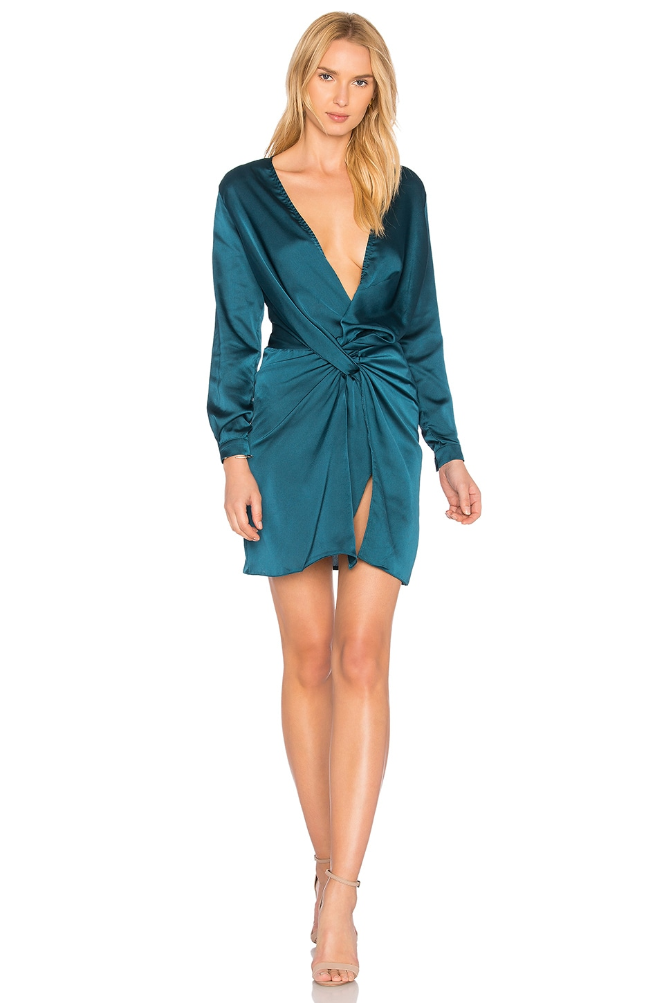 LIONESS Fame and Lust Dress in Teal