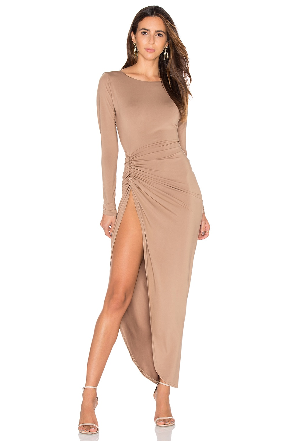 Amore Split Maxi Dress by LIONESS