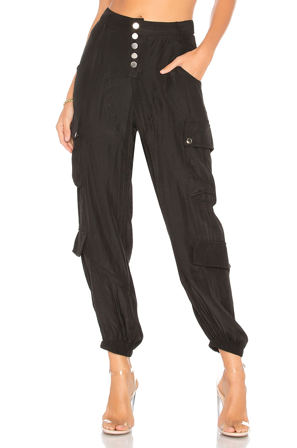 LIONESS Cypress Pant in Black