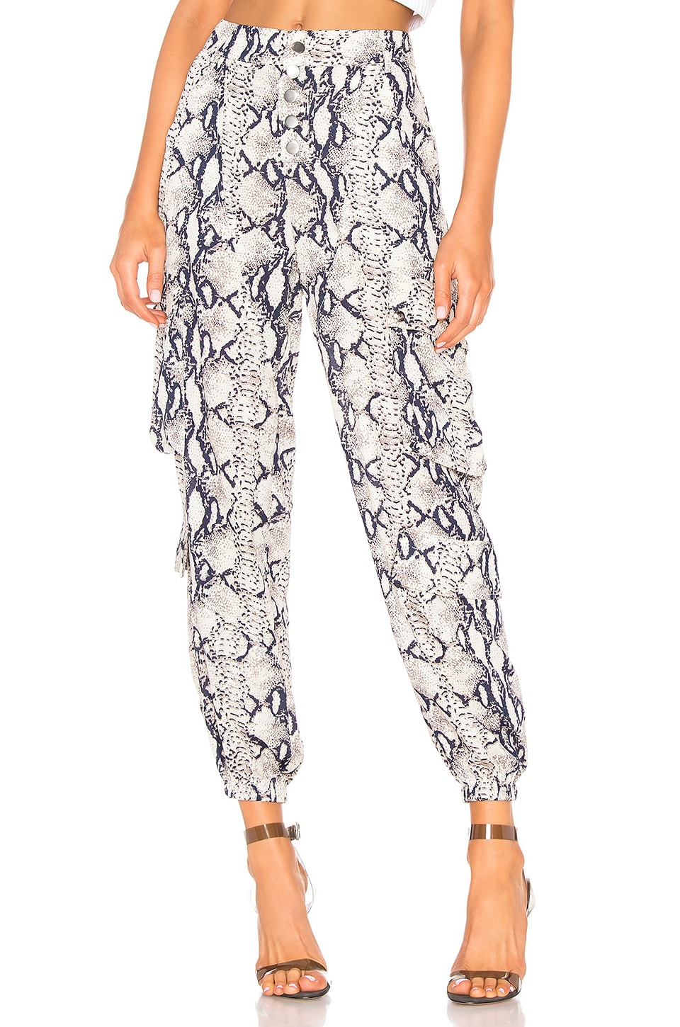 LIONESS Cypress Pant in Python Print