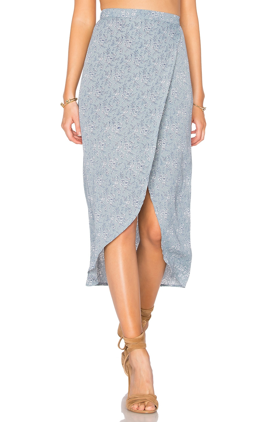 Lisakai Maxi Skirt in Blue