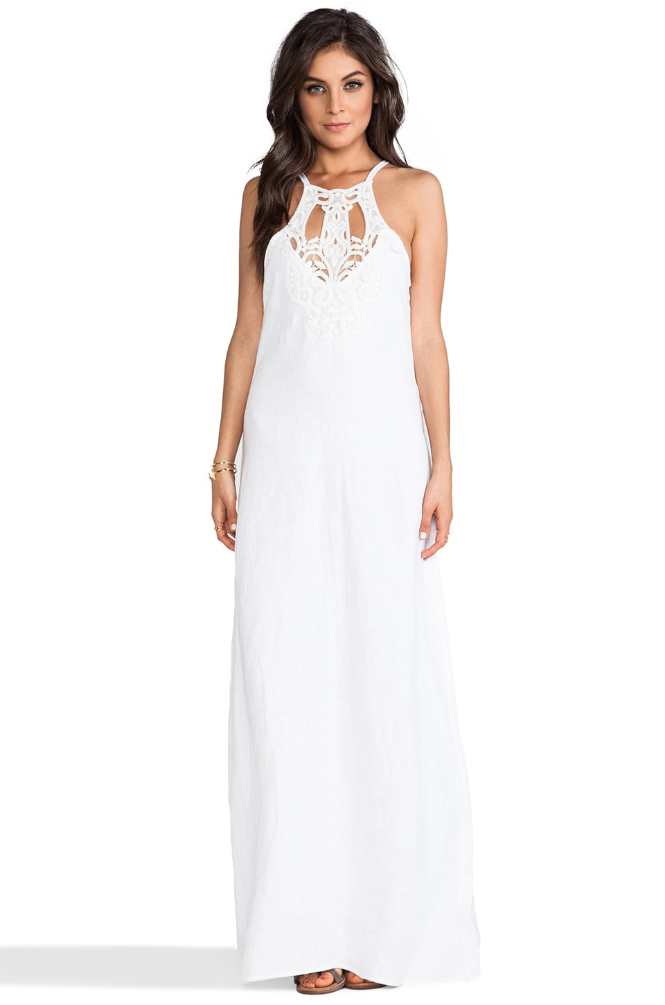 Lisa Maree A Night Alone Dress in Creme Fraiche