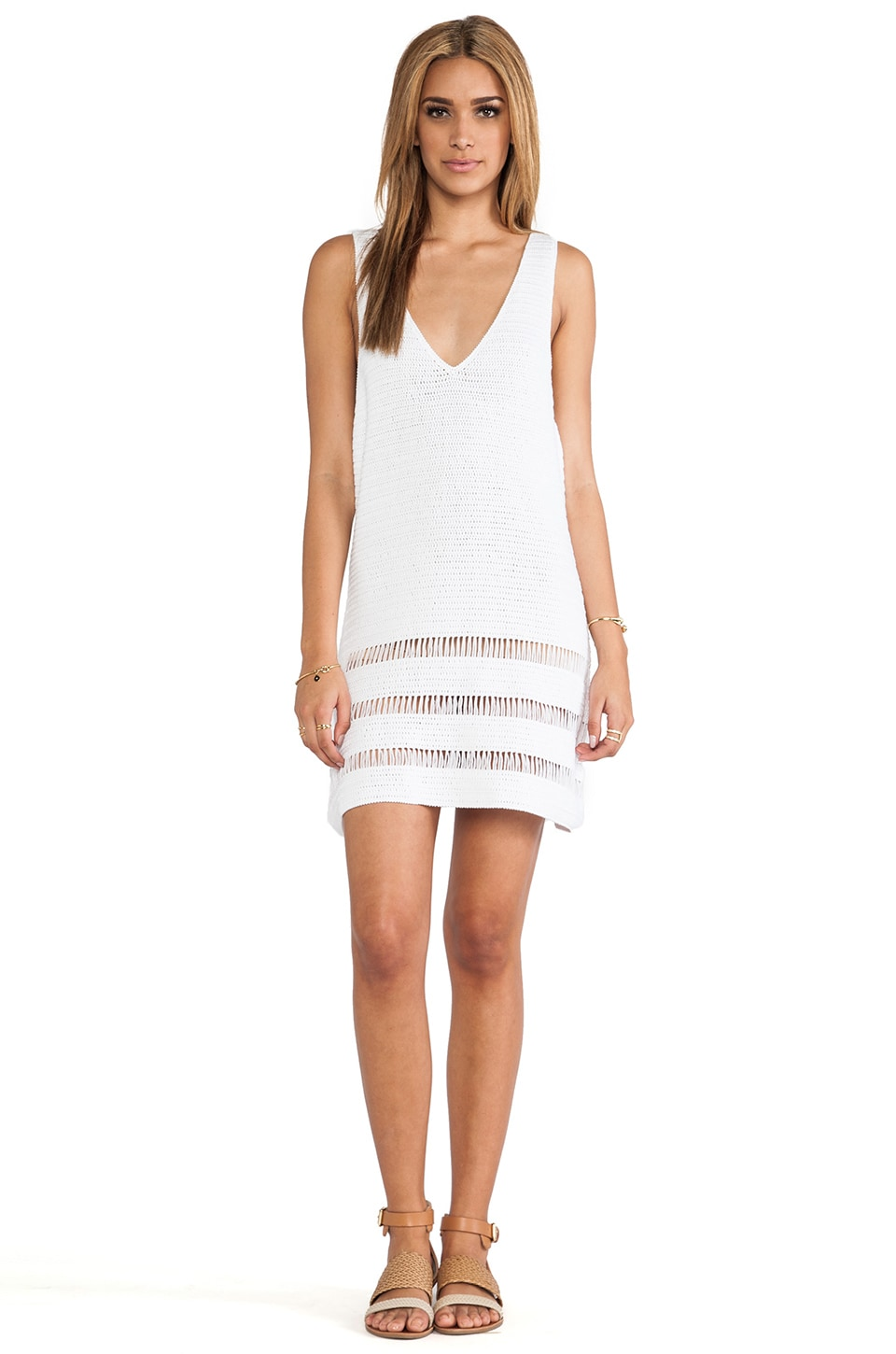 Lisa Maree A Sweet Nip Dress in Creme Fraiche