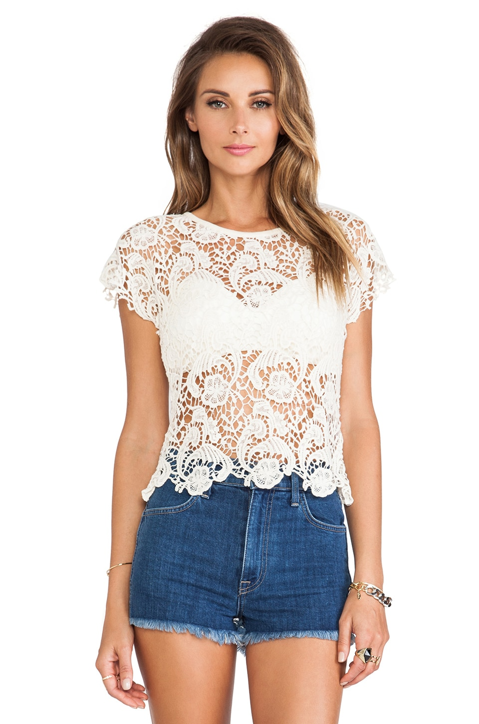 Lisa Maree The Lolly Shop Top in Whiskey
