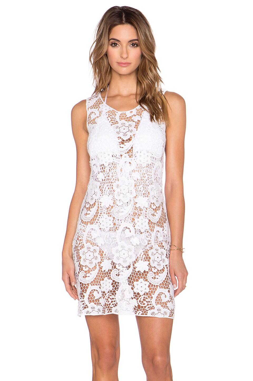 Lisa Maree That Sweet Sound Mini Dress in White