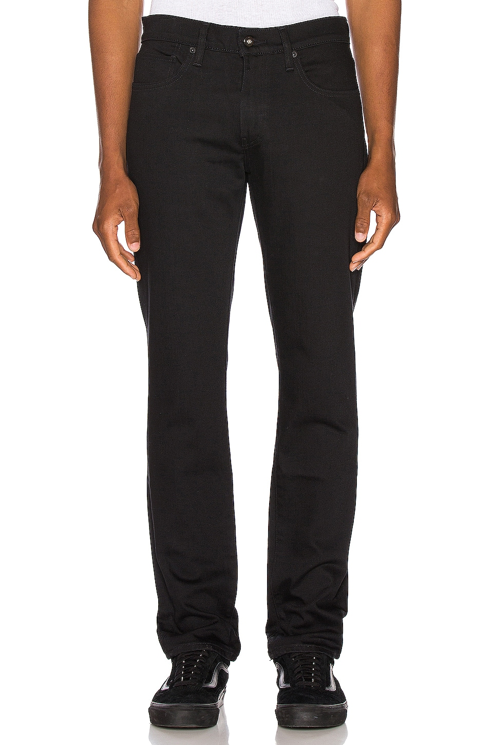 LEVI'S: Made & Crafted 511 Slim Jean in Black Rinse