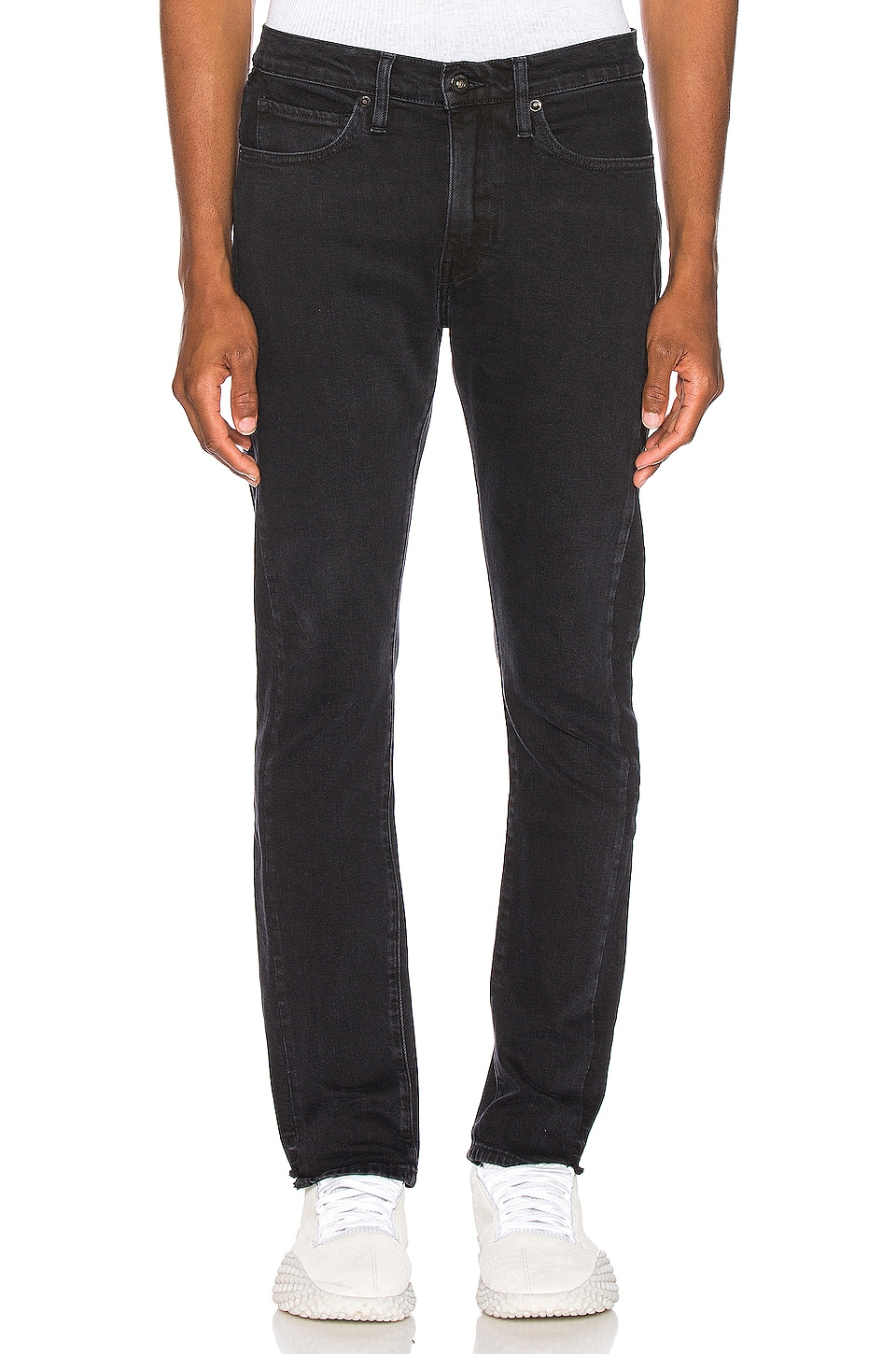 LEVI'S: Made & Crafted 510 Skinny Jean in Pieced Double Black