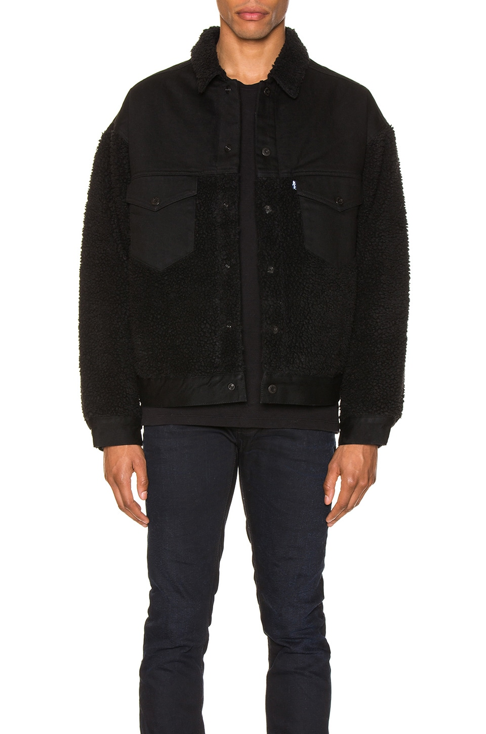LEVI'S: Made & Crafted CHAQUETA OVERSIZED SHERPA TRUCKER