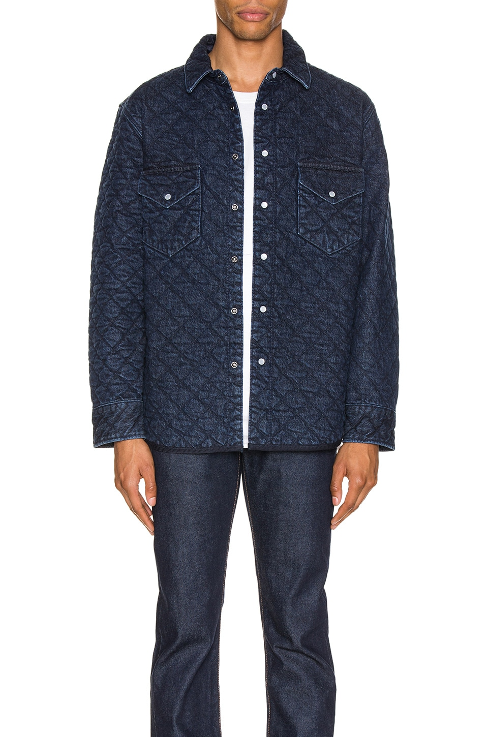 LEVI'S: Made & Crafted Quilted Western Shirt en Outback