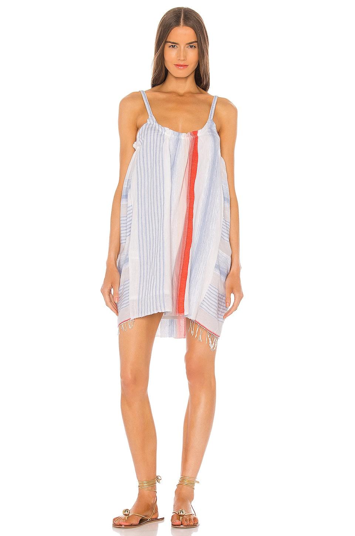 Lemlem Biftu Swing Dress in Coral