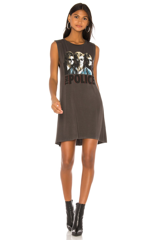 Lauren Moshi Deanna Sleeveless Dress in Light Onyx