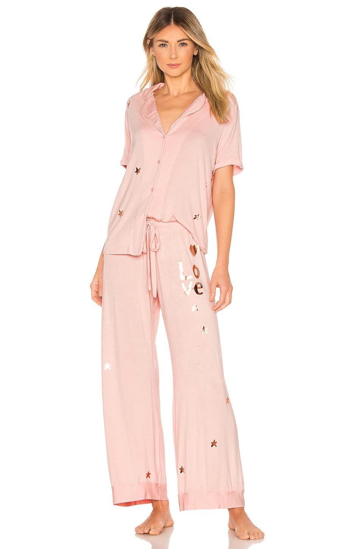 LAUREN MOSHI Waverly Pj Box Set in Pink