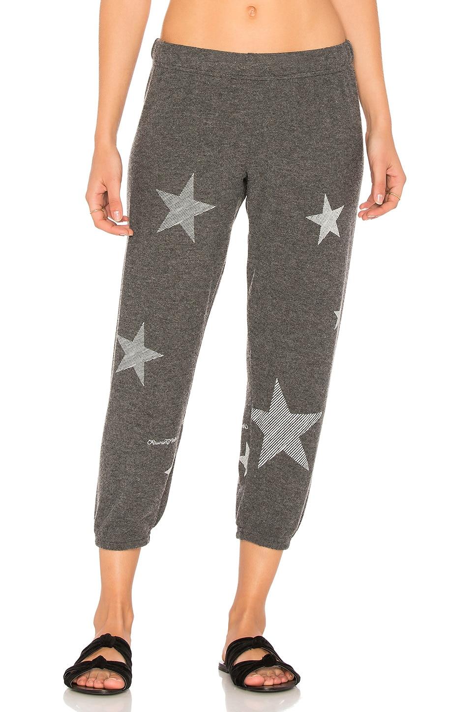 Alana Mini Stripe Stars Sweatpant by Lauren Moshi