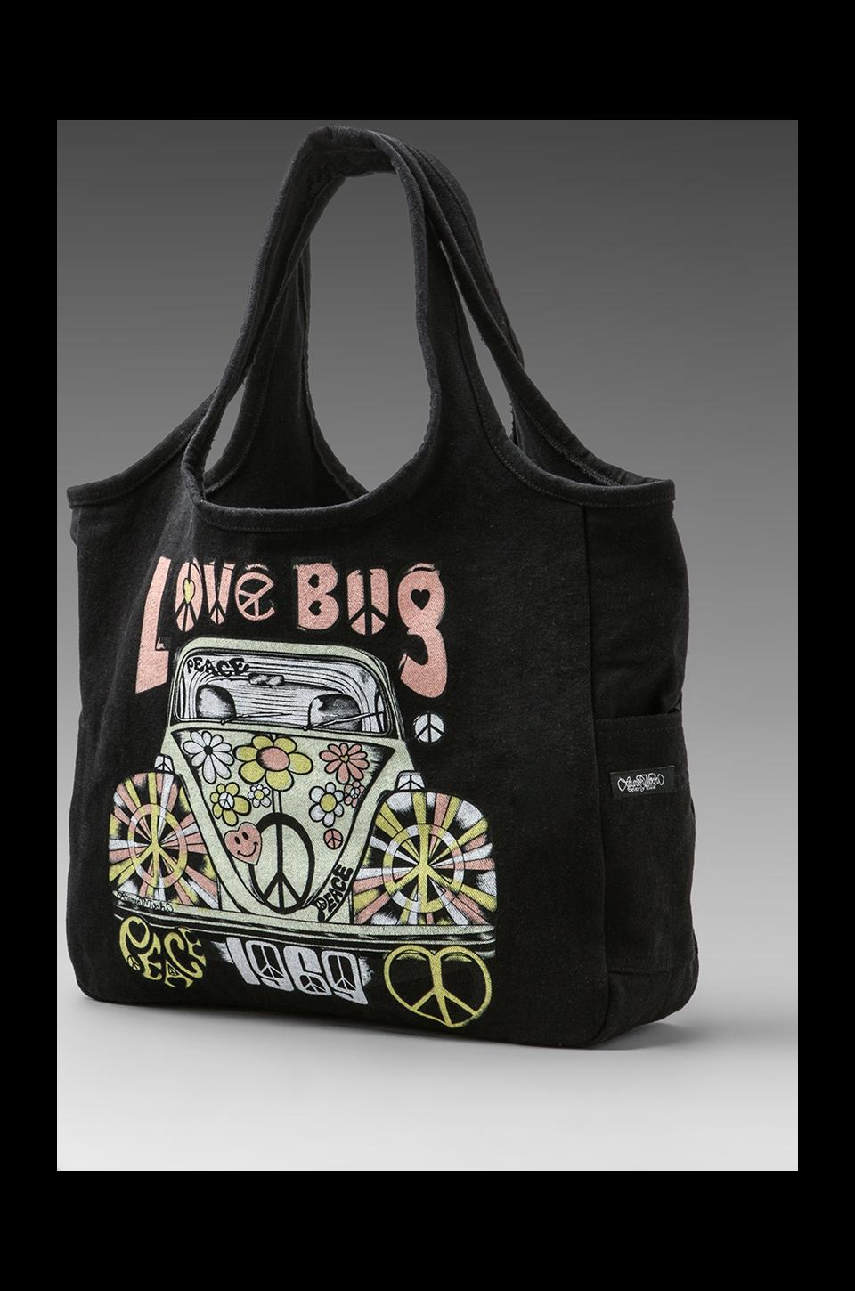 Lauren Moshi Taylor Color Love Bug Tote in Black