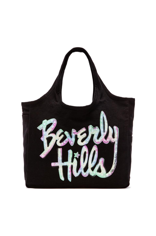 Lauren Moshi Taylor Color Beverly Hills Tote Bag in Black