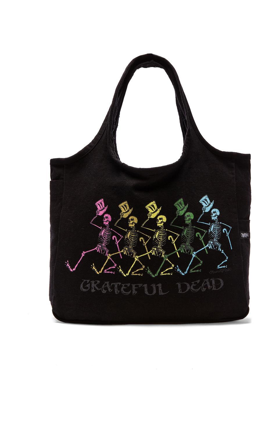 Lauren Moshi Taylor Grateful Dead Tote in Black