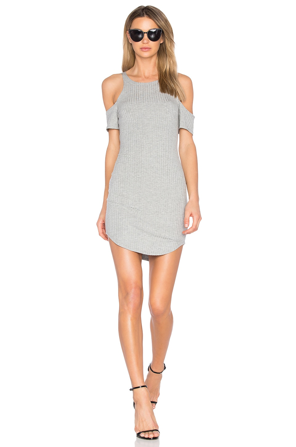 LNA Lea Dress in Marengo