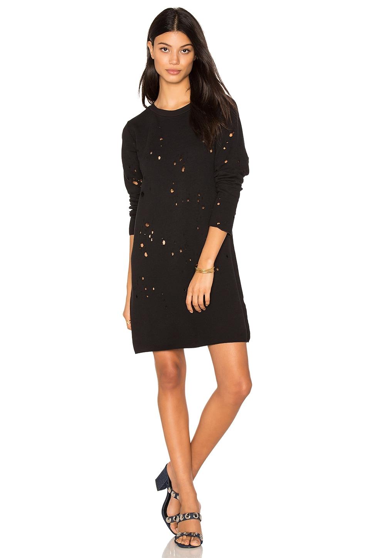Destroyed Sweatshirt Dress by LNA