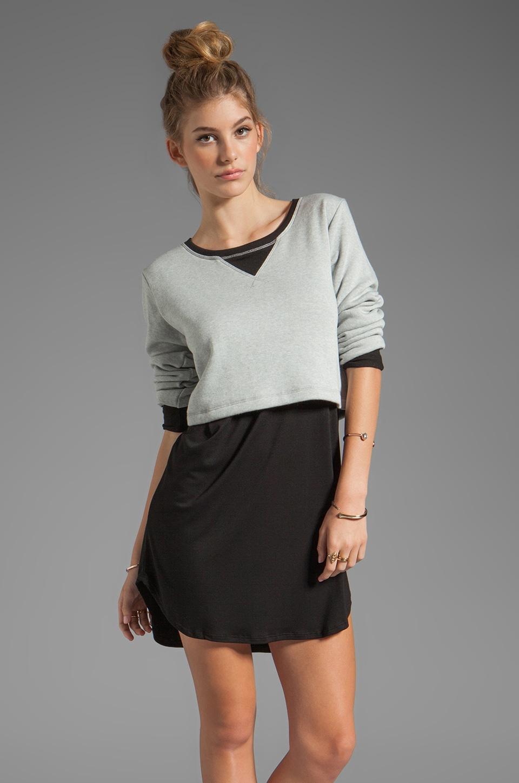 LNA Hazel Dress in Heather Grey