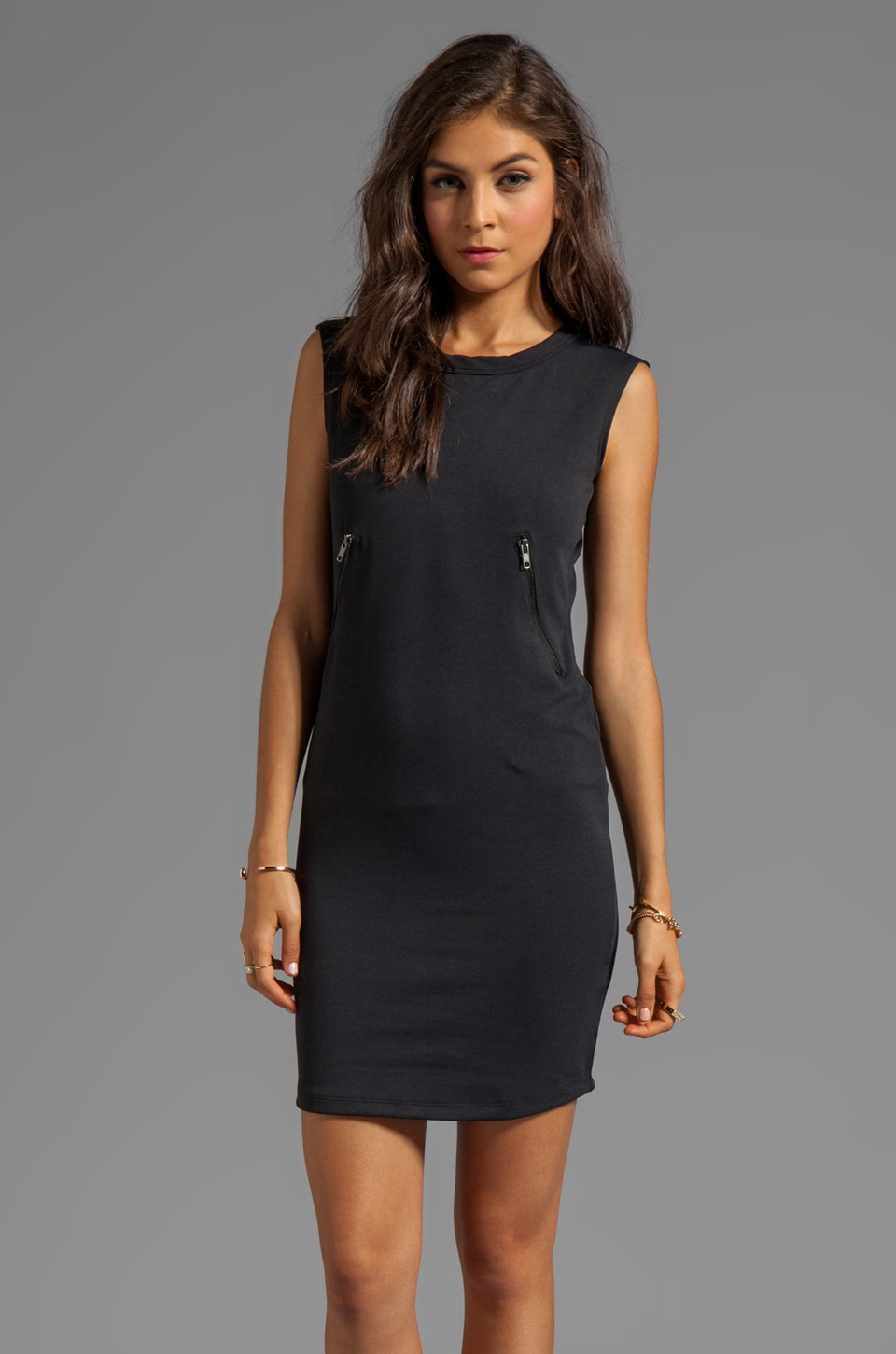 LNA Rex Dress in Black